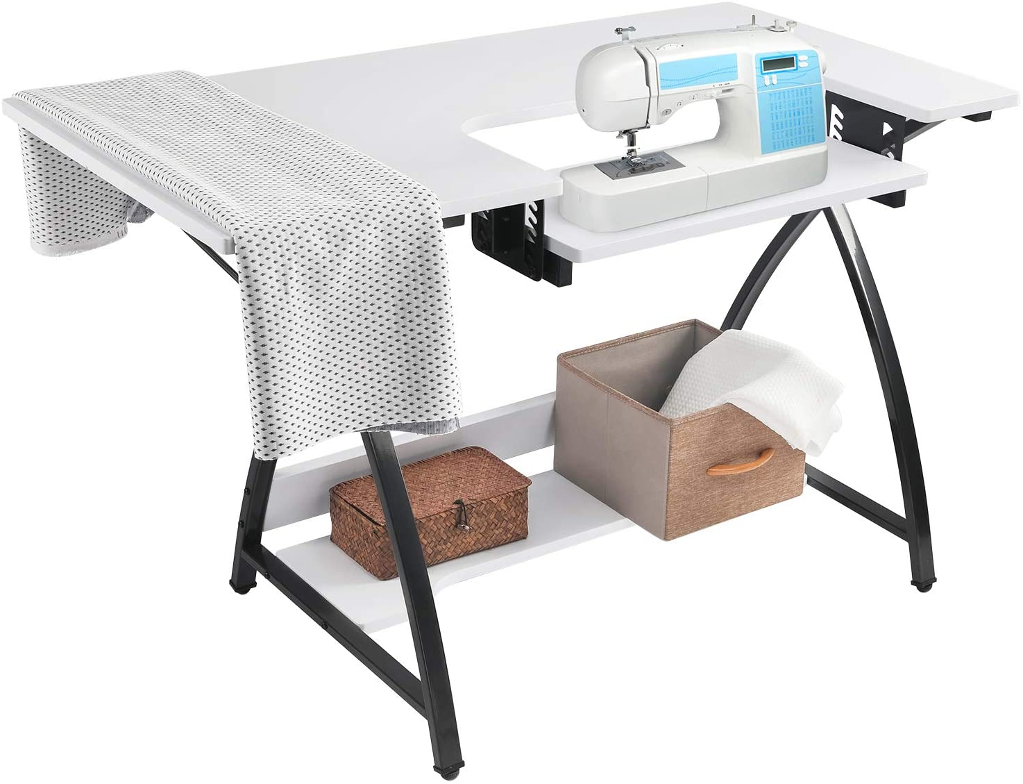 Bahom Adjustable Sewing Table