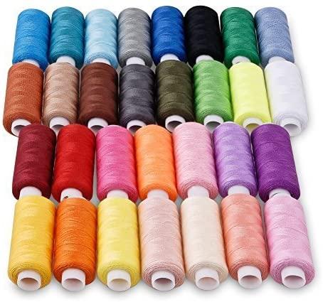 Candora Sewing Thread Assortment Coil 30 Polyester Thread