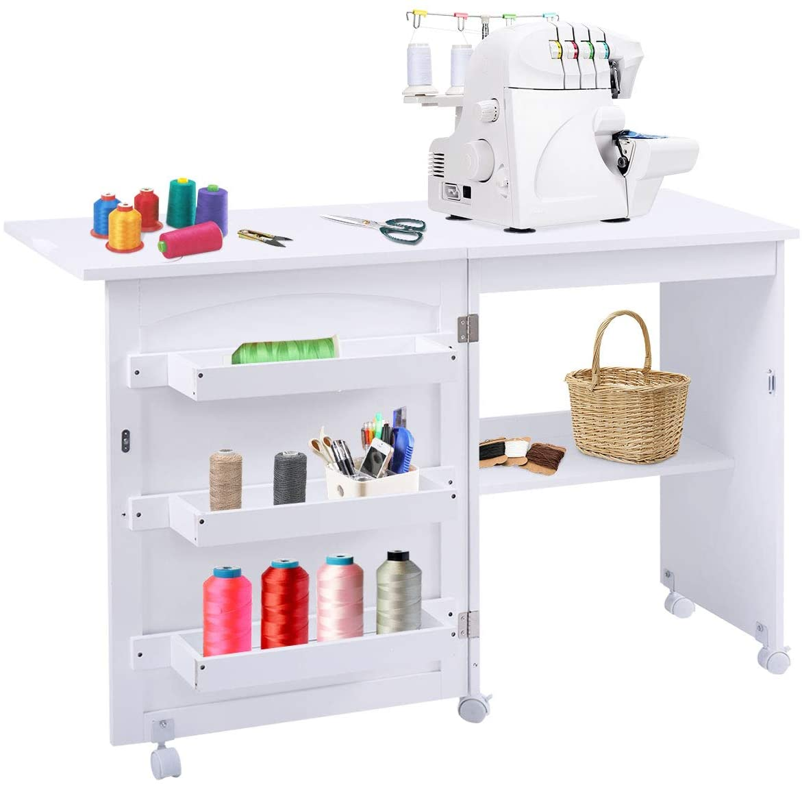 Giantex Folding Sewing Craft Table