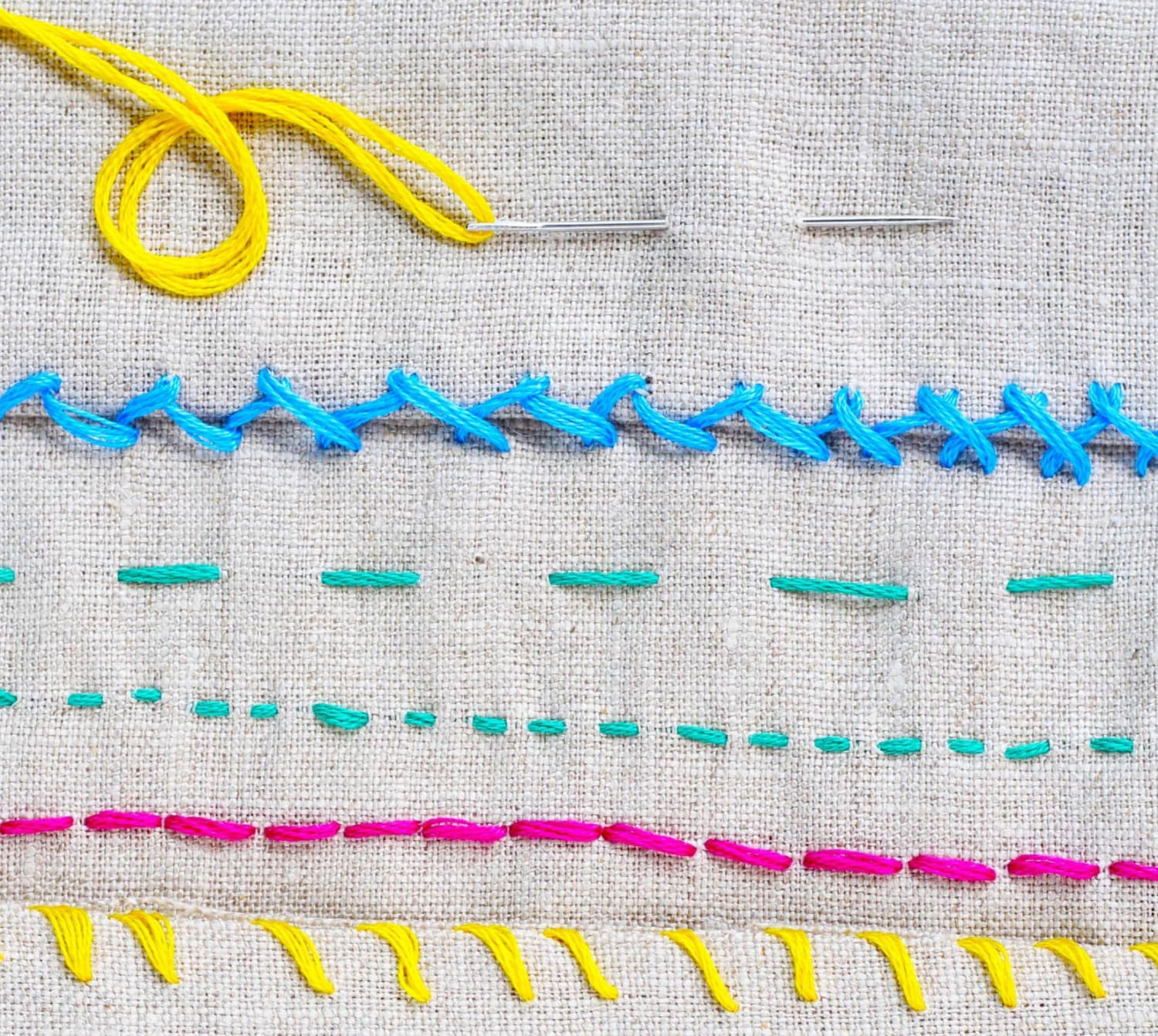How to Sew Basic Stitches