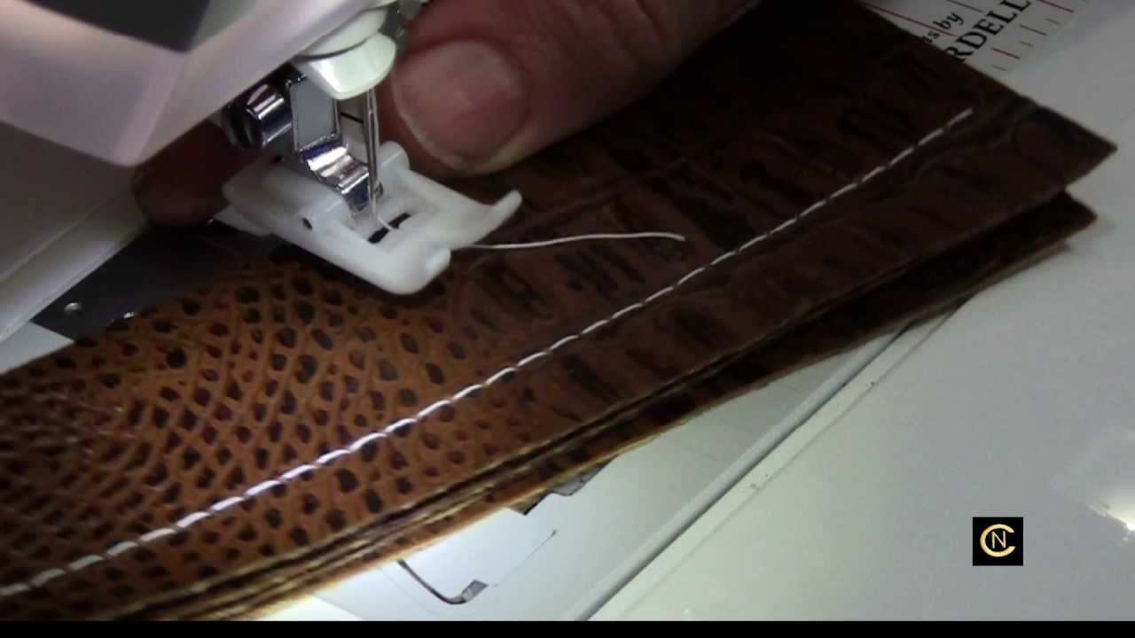 Sewing Faux Leather
