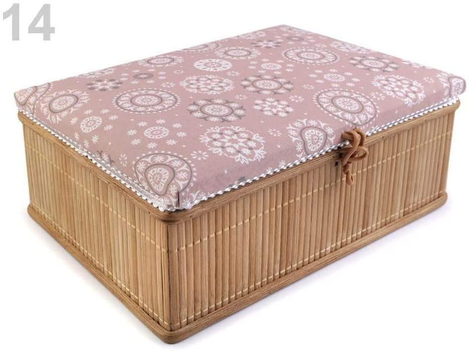 Vintage Pink Sewing Box